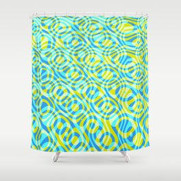 Mixed Polyps Yellow - Coral Reef Series 039 Shower Curtain
