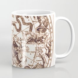 Unknown Celestial Map of the Southern Hemisphere, 17th Century Coffee Mug