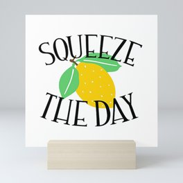 Squeeze Lemon Mini Art Print