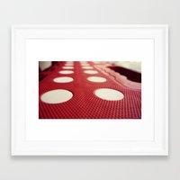 polka dot Framed Art Prints featuring Polka dot by Losal Jsk