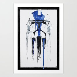 A blue hope 1 Art Print