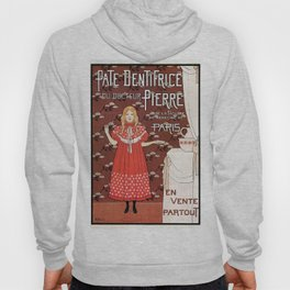 Dentifrice French belle epoque toothpaste ad Hoody