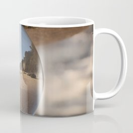 Beach Ball refraction photography with crystal ball Coffee Mug