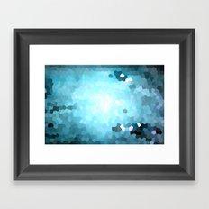 Hex Dust 2 Framed Art Print