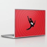 mad men Laptop & iPad Skins featuring Mad Men/ Vertigo Inspired Art by Joseph Raj