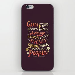 Great Minds iPhone Skin