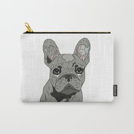 Frenchie Bulldog Puppy Carry-All Pouch