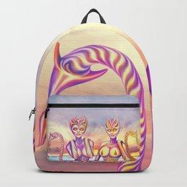 Evening sun creatures Backpack