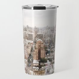 Rosy New York Travel Mug