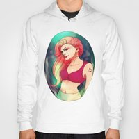 nausicaa Hoodies featuring Ariel by Nausicaa