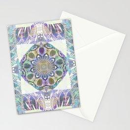 Soul Free Bliss Peace Mandala Boho Stamp Stationery Cards