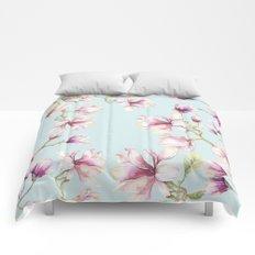 Delicate Magnolia Comforters