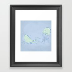 Knucks Framed Art Print