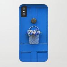 The Blue Door Slim Case iPhone X