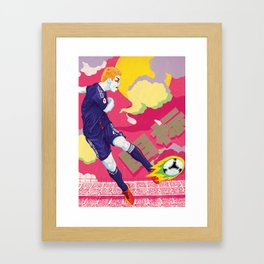 Balls of Fire Framed Art Print