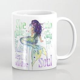 Mermaid : Profound Depths Coffee Mug