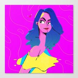 Sophie The True Romance Canvas Print