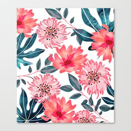 Yours Florally Canvas Print