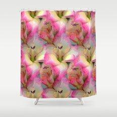 In the Flower Garden Shower Curtain