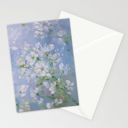 Sweet Wild Roses Stationery Cards