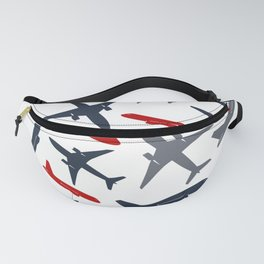 Planes Everywhere Fanny Pack