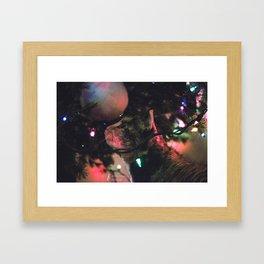 Ella and The Christmas Tree Framed Art Print