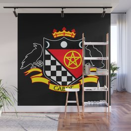 Cabot Crest Color/Black Wall Mural