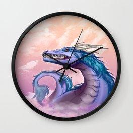 Sahasrara Dragon Wall Clock