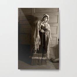 basement ghost Metal Print