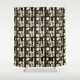 Indian abstractions  Shower Curtain