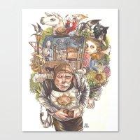 Patsy's Back Canvas Print