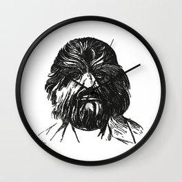 Hey, Wolfman Wall Clock