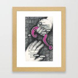 Twenty-two. Framed Art Print
