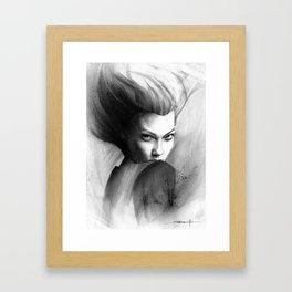 Karlie Framed Art Print