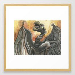 Dragon Hatchling Framed Art Print
