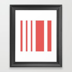STRiPE Framed Art Print