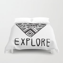 Explore Mindset Duvet Cover