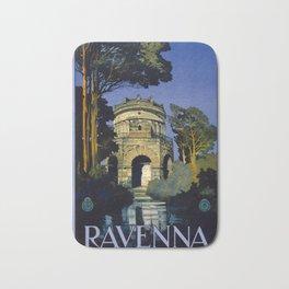 Vintage Ravenna Italy Travel Bath Mat