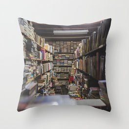 knowledge is power Throw Pillow