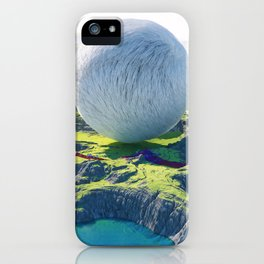 Furry Composition iPhone Case