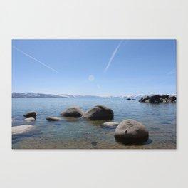 Rocky Lake Canvas Print