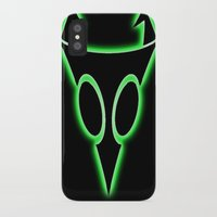 invader zim iPhone & iPod Cases featuring INVADER ZIM LOGO by jjb505
