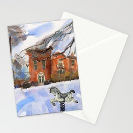 Spring Horse Stationery Cards