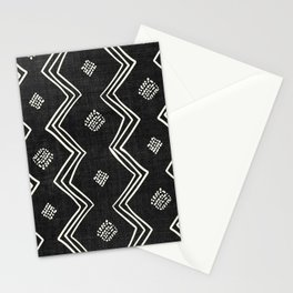 Village in Black and White Stationery Cards