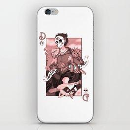 Delirious card iPhone Skin