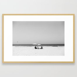 Beach series: Family Framed Art Print
