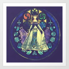Zelda: Princess of Destiny Art Print