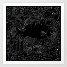 The Invisible Art Print