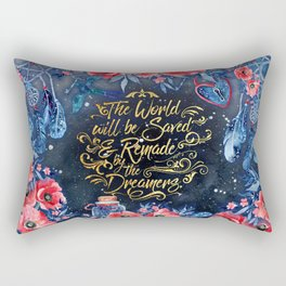 Saved by the Dreamers Rectangular Pillow