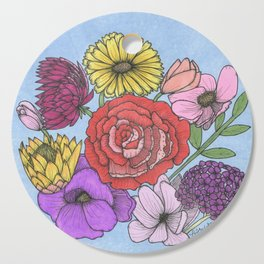Floral Bouquet Cutting Board